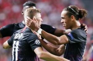 Champions League: Leipzig siegt dank Werner – Klopps Liverpool patzt in Neapel