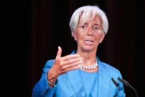 Abstimmung in Straßburg: EU-Parlament stimmt für Lagarde als künftige EZB-Chefin