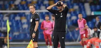 Klopp patzt mit Liverpool in Neapel – Chelsea lässt Punkte in Valencia