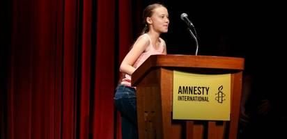 """Greta Thunberg ist jetzt auch """"Botschafterin des Gewissens"""""""