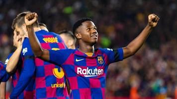 Aufstellungen sind da: Ohne Messi – aber mit Wunderkind