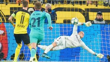 Champions League: Dortmund verpasst Coup gegen Barcelona – BVB verzweifelt an ter Stegen