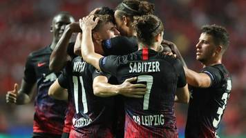 Champions League: RB Leipzig siegt gegen Benfica Lissabon