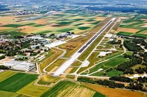 der allgäu airport ist ab heute für zwei wochen gesperrt