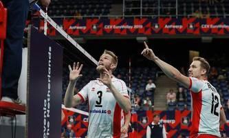 Volleyball-Herren bei EM nach Niederlage gegen Spanien out