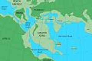 """relikte noch heute sichtbar - """"greater adria"""": unter europa liegt ein versunkener kontinent so groß wie grönland"""