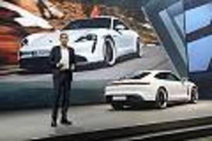 Interview mit Porsche-Chef Blume - Macan und Boxster elektrisch, 911er darf Benziner behalten: Das plant Porsche wirklich
