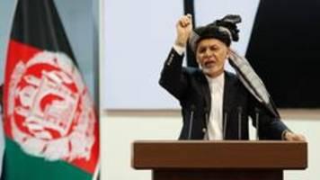 anschlag auf wahlkampfveranstaltung des afghanischen präsidenten