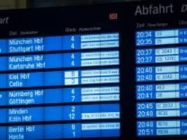 Unwetter: 200 Reisende müssen in ICE übernachten