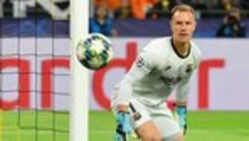 Champions League: Diesmal sprach ter Stegen mit den Händen
