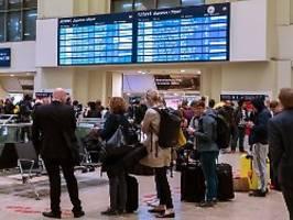 Nach Sturm in Norddeutschland: Zugreisende brauchen Geduld