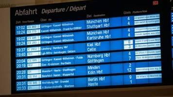 sturm im norden deutschlands führt zu störungen in bahnverkehr
