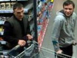 Polizei Berlin sucht zwei Täter mit Fotos
