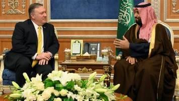 US-Außenminister Pompeo reist nach Angriffen auf Öl-Anlagen nach Saudi-Arabien