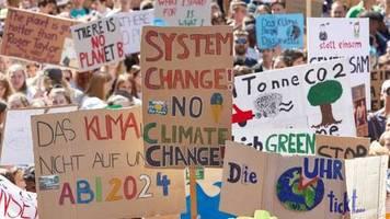 Fridays for Future: Klimaschutzforderungen: Gewerkschaft warnt vor Kahlschlag