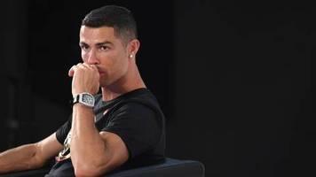 Interview im britischen TV: Ich will wieder frei sein: Der Seelenstriptease des Cristiano Ronaldo