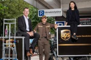 hamburger start-up: elektrische fahrradanhänger für ups aus hamburg