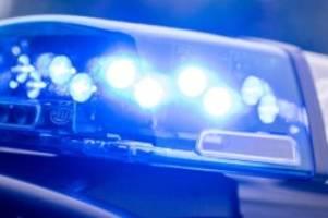 kriminalität: polizei nimmt autofahrer nach flucht fest