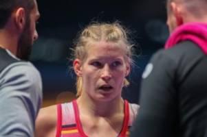 Olympia-Ticket sicher: Ringerin Rotter-Focken kämpft um WM-Bronze