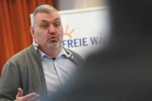 Parteien: Freie-Wähler-Vize Wildt verkündet Rücktritt von Parteiamt