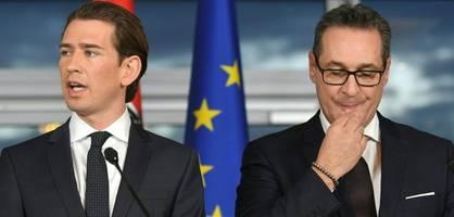 Ex-FPÖ-Chef Strache wirft Kurz Wortbruch vor
