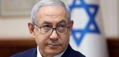 ministerpräsident benjamin netanjahu muss um seine macht bangen