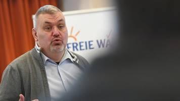 Freie-Wähler-Vize Wildt verkündet Rücktritt von Parteiamt