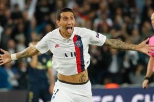 Sieg gegen Real: Di Maria und Meunier lassen PSG jubeln