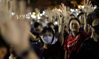Führende US-Abgeordnete stellen sich hinter Hongkong-Aktivisten