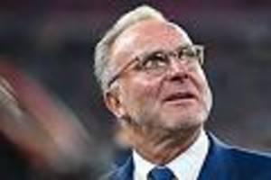 Bayern-Boss schaltet sich ein - Rummenigge attackiert DFB und fordert Dankbarkeit für Neuer