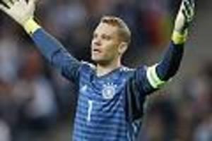 Ter Stegen steht bereit - Bericht: Neuer denkt offenbar an Rücktritt aus Nationalmannschaft