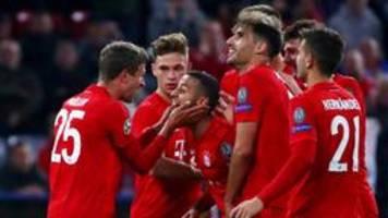 champions league: arbeitssieg für die bayern gegen belgrad
