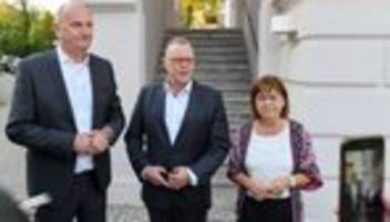 Koalitionsverhandlungen: Dietmar Woidke will mit CDU und Grünen koalieren