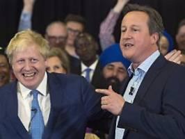 memoiren zur ehrenrettung: cameron schreibt sich den brexit schön