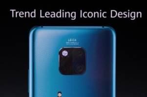 Mate 30 ohne Google-Apps: Huawei schweigt zu Verfügbarkeit des neuen Top-Smartphones