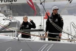 Unfall: Sorge um Greta-Jacht Malizia: Boot rammt unbekanntes Objekt