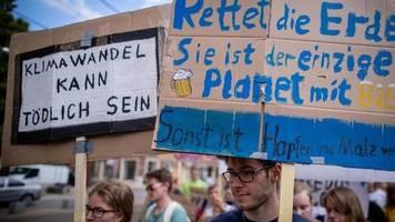 Strategie der Bundesregierung: Koalitionsspitzen beraten sich vor Klimakabinett