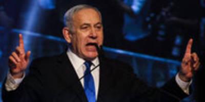 Nach Parlamentswahl in Israel: Netanjahu will Einheitsregierung