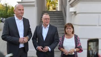 Woidke schlägt SPD-CDU-Grünen-Koalition für Brandenburg vor
