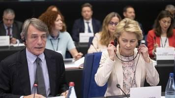 europäische lebensweise: eu-parlament setzt von der leyen unter druck