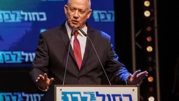 Patt nach Wahl: Ex-Militärchef Gantz will Ministerpräsident in Israel werden