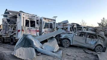 Taliban-Angriff: Viele Tote nach Anschlag vor Krankenhaus in Afghanistan