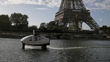 Neue Form des Reisens: Paris bereitet möglichen Einsatz von Wassertaxis vor