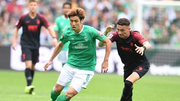 Offensivspieler - Bremer Personalsorgen: Osako fehlt wochenlang