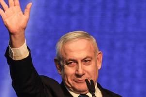 netanjahu fordert nach wahl koalition mit blau-weiß