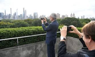 van der bellen macht in new york mobil für den kampf ums klima [premium]