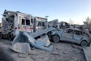 Viele Tote nach Anschlag vor Krankenhaus in Afghanistan