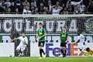 Europa League - Live-Ticker: Gladbach droht ein Debakel! Wolfsberg zerlegt die Fohlen