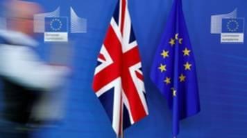 brexit: brüssel meldet post aus london