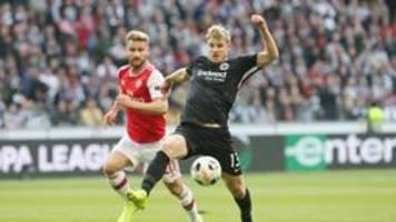 europa league: eintracht startet mit niederlage